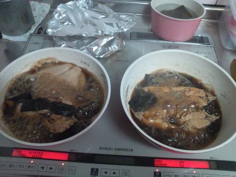 カレイの煮つけ1-09