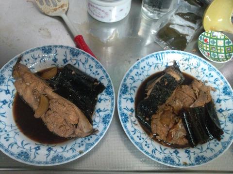 カレイの煮つけ1-11