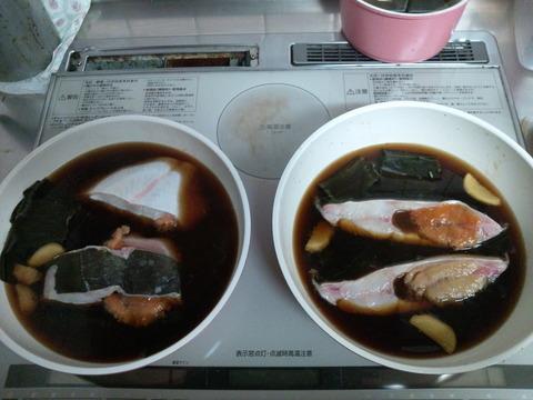 カレイの煮つけ1-04