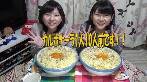 【大食い】時短パスタ!カルボナーラ20人前!