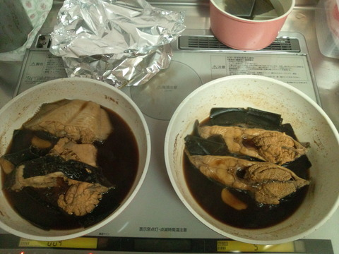 カレイの煮つけ1-10