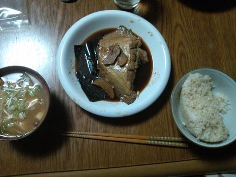 カレイの煮つけ1-13