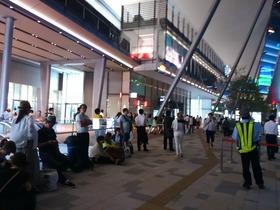 東京駅23時