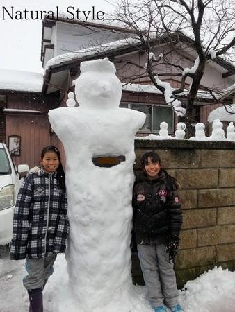 雪玉作り6