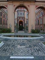 palazzo reale モザイコ