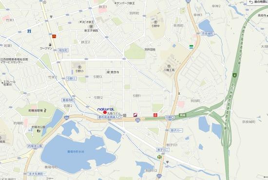 natural map