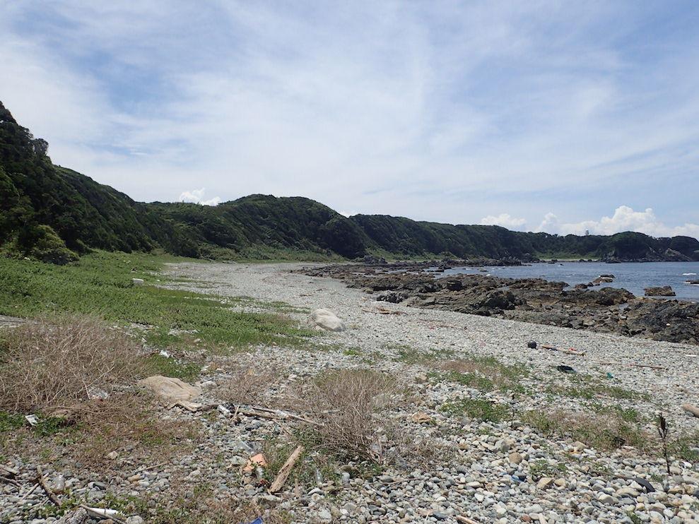 03潮岬ビーチコーミング