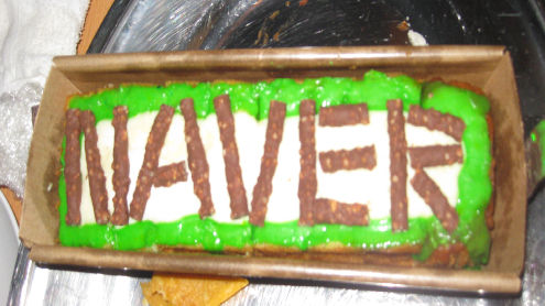 NAVER Green Window ケーキ