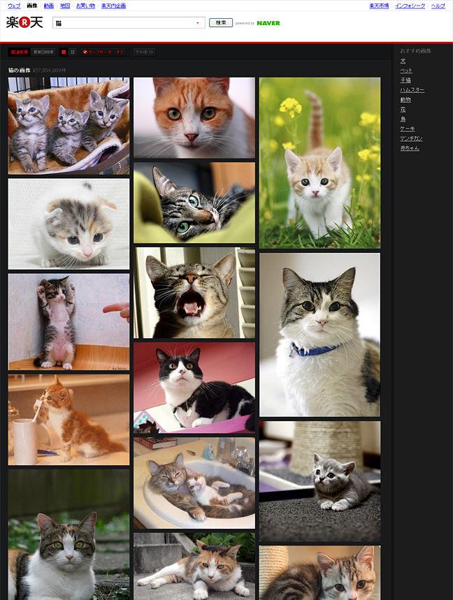 Rakuten Image Search