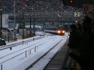 彦根駅姫路行き列車