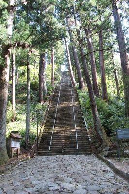 身延山階段
