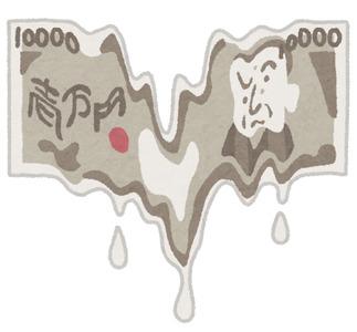 1万円札が消える