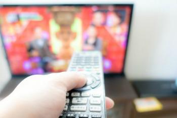 テレビを消して