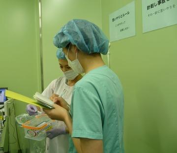 学生実習(手術室)