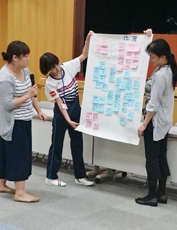 20160928 実践Ⅲ 研修風景 訪問看護研修前 (27) (491x640)