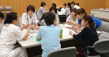 20160928 実践Ⅲ 研修風景 訪問看護研修前 (19) (640x336)