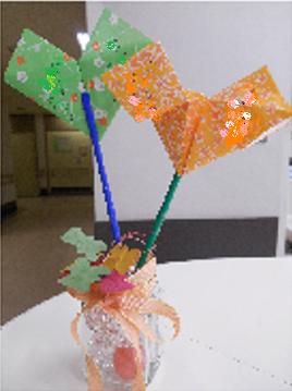 6F小児作成折り紙