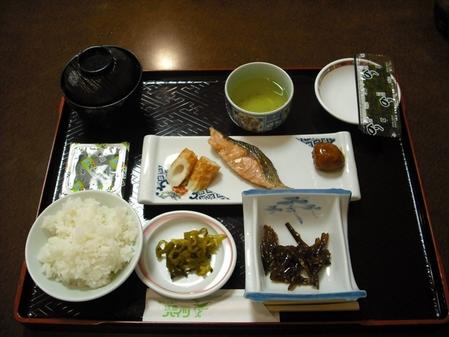 日本の正しい朝食です