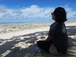 カヤンゲルで瞑想