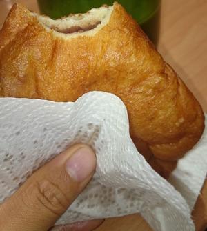 油パン(揚げアンパン)