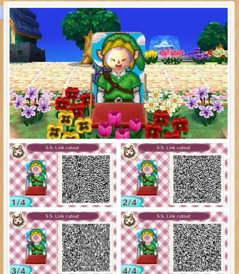 Animal Crossing Qr Codes love bidoofcrossing:  ニ
