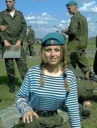 【画像】ロシアの女兵士可愛いエ口すぎるwwwwwwwwwwwwwwwwwww