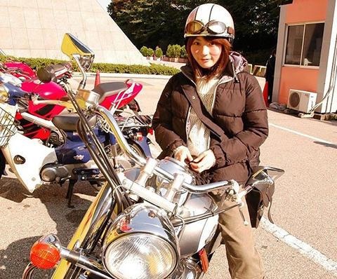 バイク 女子