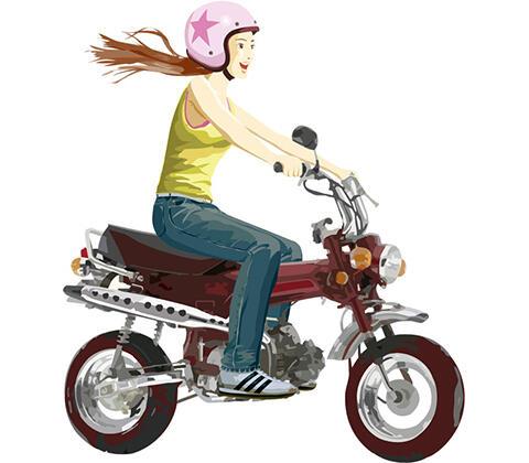 【画像あり】バカ女、高速道路で風を感じてしまうwwwwwwww