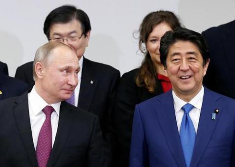 プーチン 安部晋三