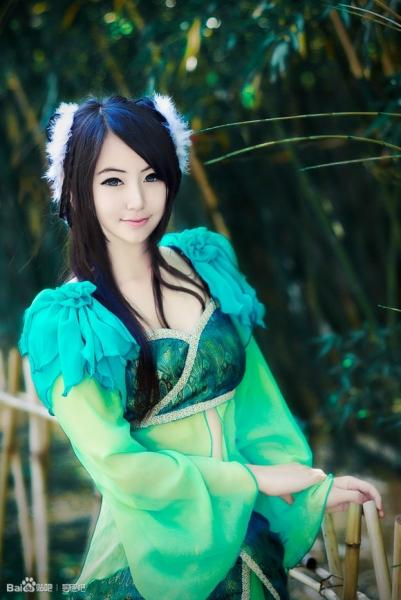 中国 コスプレ 美人
