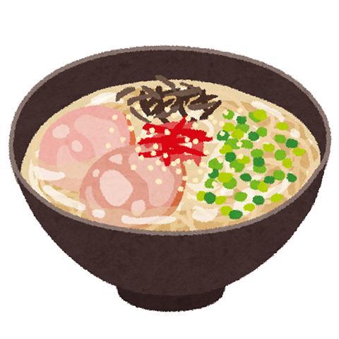 とんこつラーメン (2)