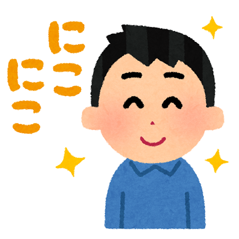 笑う (3)