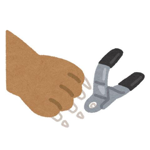 ペットの爪切り