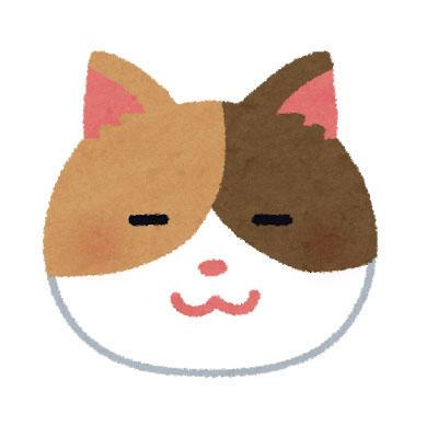のんびり 三毛猫