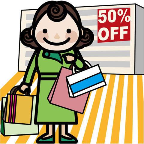セール 買い物
