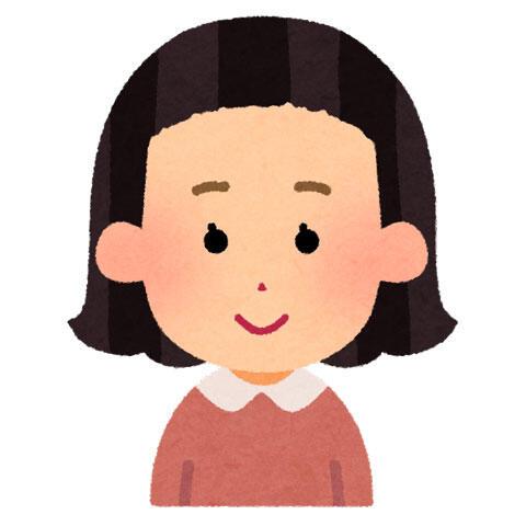 前髪の短い女の子