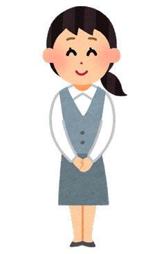 女性事務員