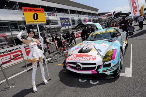 初音ミク スポーツカー レース