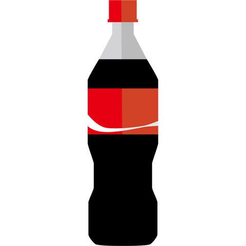 ペットボトルのコーラ