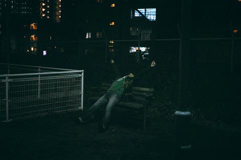 深夜 公園
