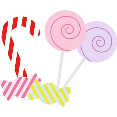 3種類のキャンディ