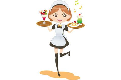 メイドカフェの店員