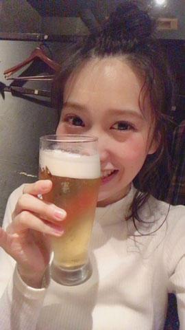 加藤里保菜 ビール