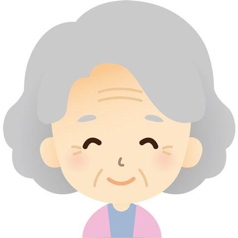 優しそうなおばあさん