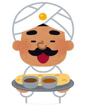 インド人のカレー屋さん