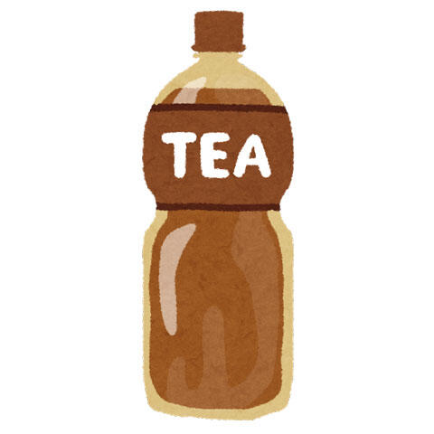ペットボトルの紅茶