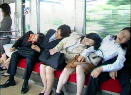 電車迷惑行為