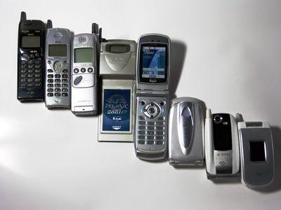 90年代 携帯電話