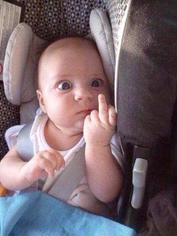 バカッター 赤ん坊