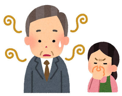 中年 体臭 加齢臭